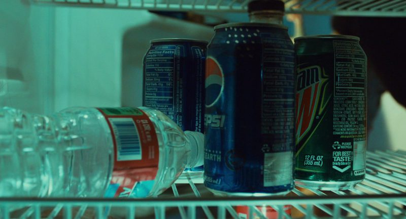 Pepsi and Mountain Dew Soft Drinks in 127 Hours (2010) Movie