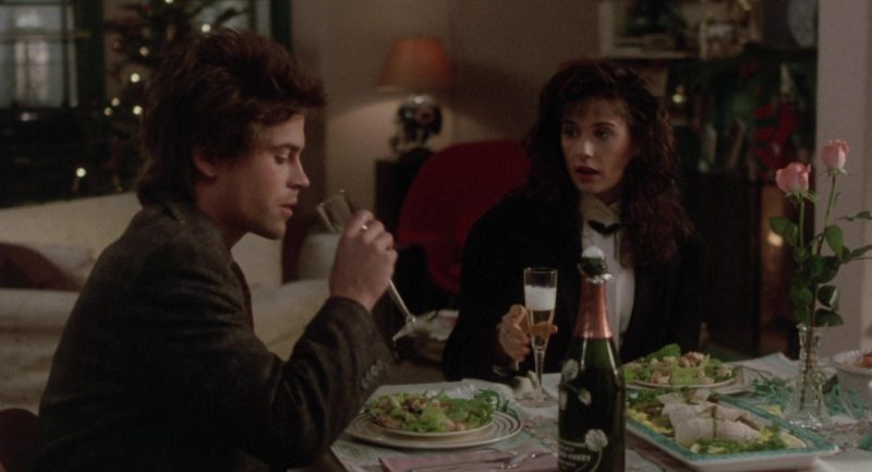Perrier-Jouët Champagne Drunk by Demi Moore and Rob Lowe in About Last Night… (1986) - Movie Product Placement