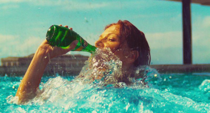 Perrier Water in 127 Hours (2010) Movie