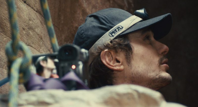 Petzl Headlamp Worn by James Franco in 127 Hours (2010) - Movie Product Placement