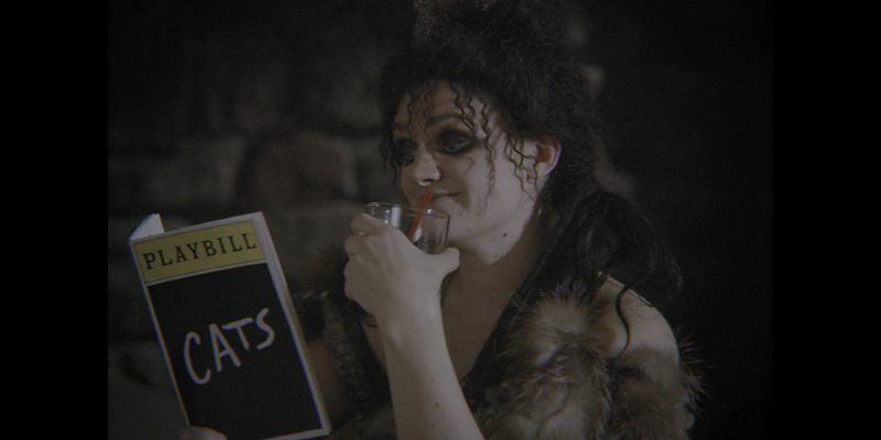 "Playbill Magazine Held by Actress Gayle Rankin (Sheila the She-Wolf) in Glow Season 2 Episode 8 ""The Good Twin"" (2018) TV Show Product Placement"