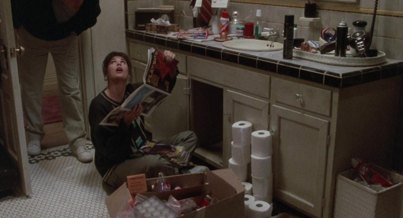 Playboy Magazine Held by Demi Moore in About Last Night… (1986) Movie Product Placement