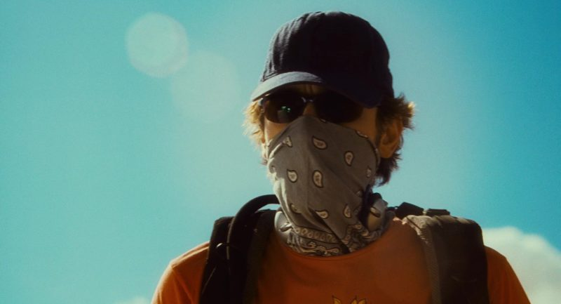 Polaroid Sunglasses Worn by James Franco in 127 Hours (2010) - Movie Product Placement