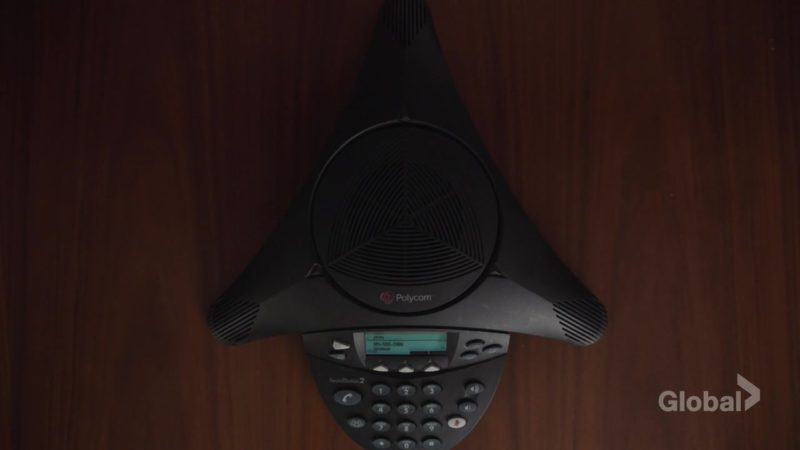 Polycom Conference Phone in New Amsterdam Season 1 Episode 7: Domino Effect (2018) TV Show Product Placement