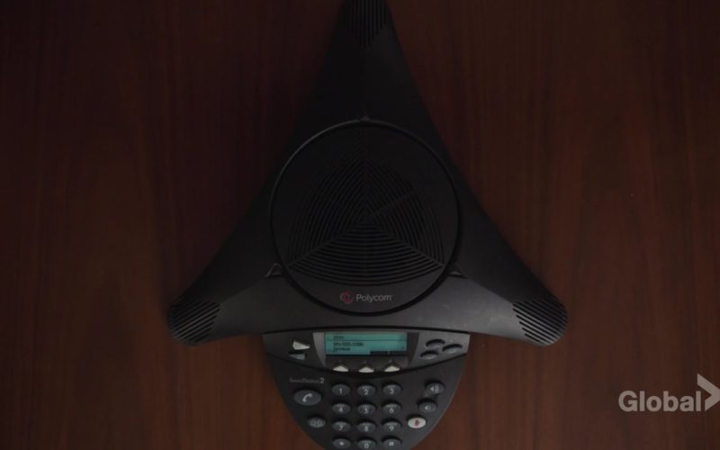Polycom Conference Phone in New Amsterdam Season 1 Episode 7
