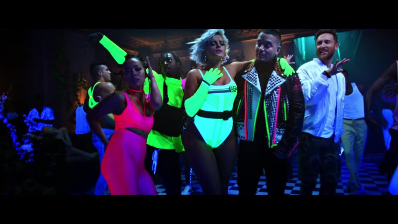 """Prada Bodysuit Worn by Bebe Rexha in """"Say My Name"""" (2018) - Official Music Video Product Placement"""