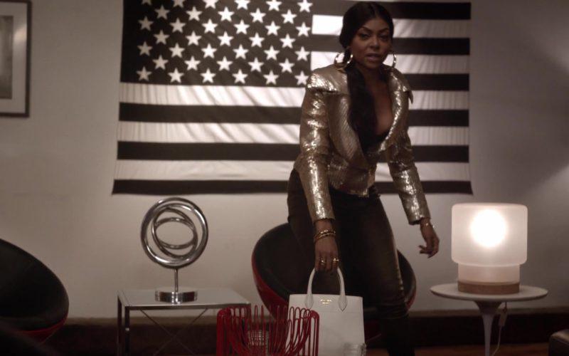 Prada Handbag Used by Taraji P. Henson (Cookie Lyon) in Empire Season 5 Episode 6 (3)