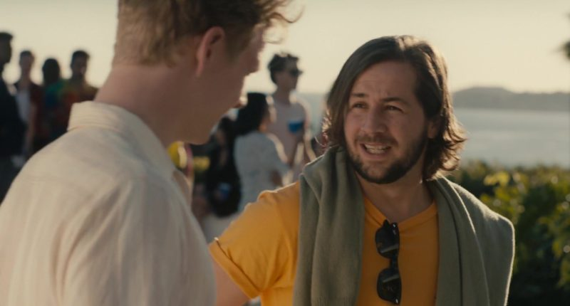 "Ray-Ban Sunglasses Worn by Michael Angarano in ""In A Relationship"" (2018) Movie Product Placement"