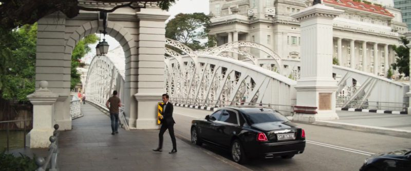 Rolls-Royce Car in Crazy Rich Asians (2018) Movie Product Placement