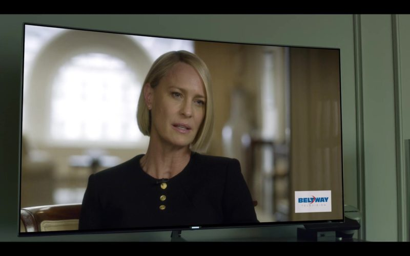 Samsung Curved 4K UHD TV in House of Cards Season 6 Episode 7 Chapter 72 (1)