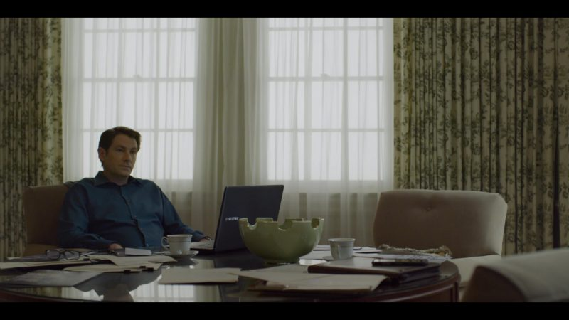 Samsung Laptop Used by Derek Cecil in House of Cards Season 6 Episode 2 Chapter 67 (2018) TV Show Product Placement