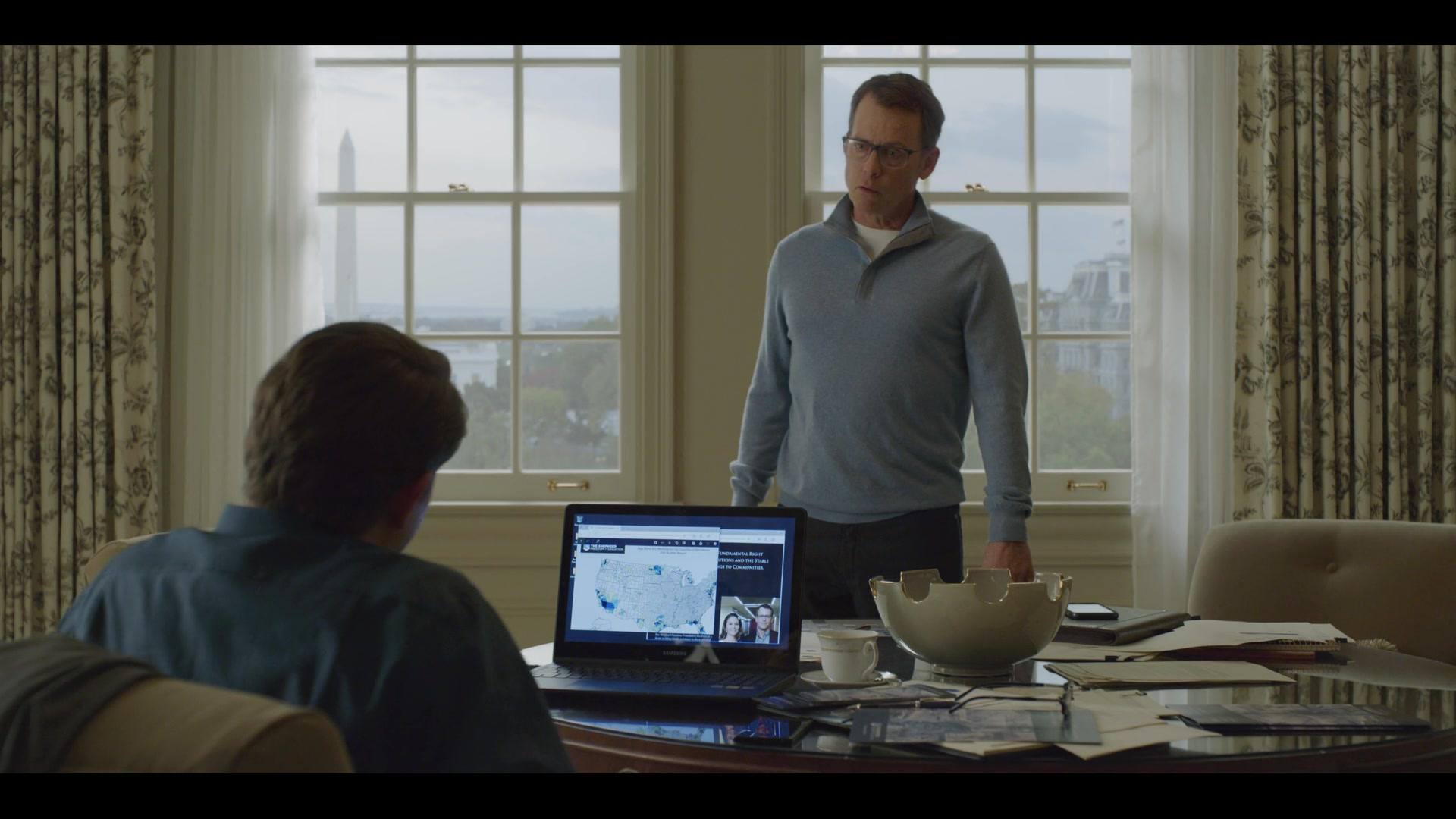 Samsung Laptop Used By Derek Cecil In House Of Cards Season 6