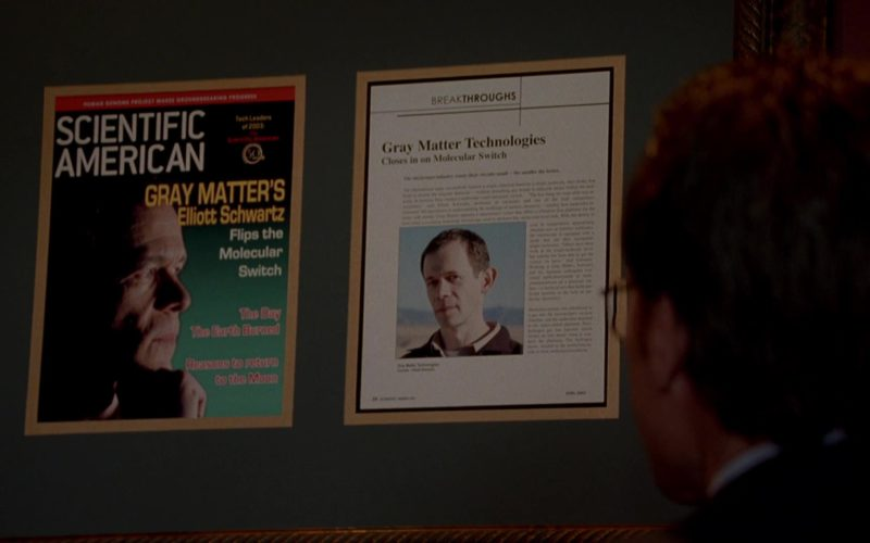 Scientific American Magazine in Breaking Bad Season 1 Episode 5