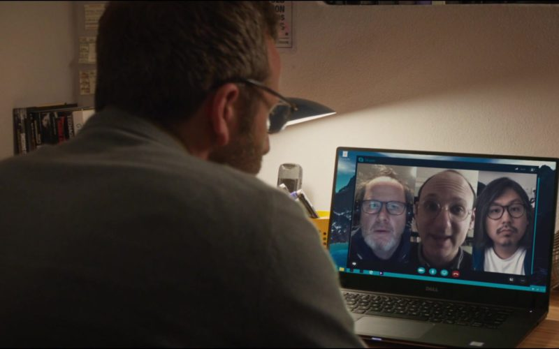 Skype and Dell Notebook Used by Chris O'Dowd in Juliet, Naked