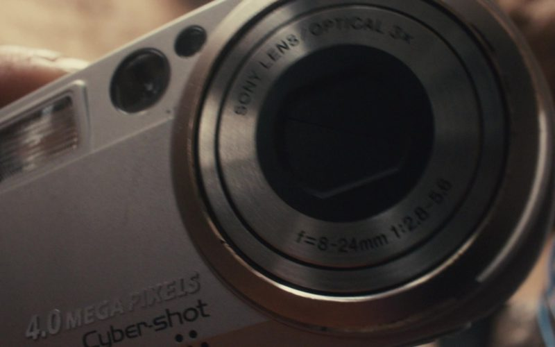 Sony Cybershot 4MP Digital Camera Used by James Franco in 127 Hours