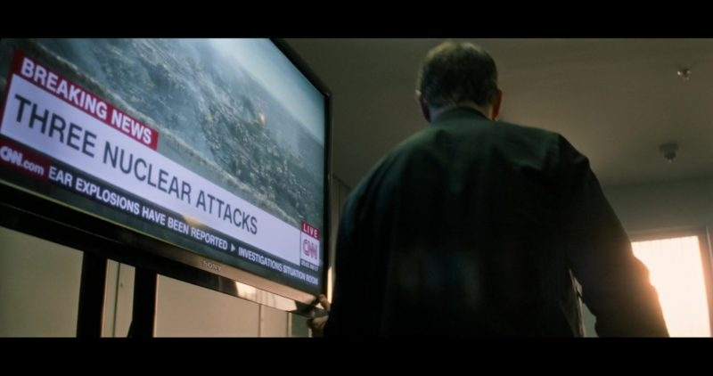 Sony TV and CNN Television Channel in Mission: Impossible – Fallout (2018) - Movie Product Placement