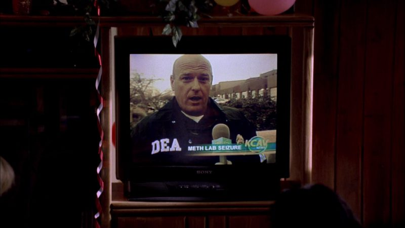 Sony TV in Breaking Bad Season 1 Episode 1: Pilot (2008) - TV Show Product Placement