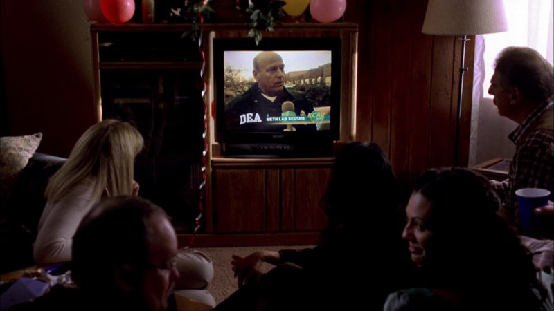 Sony TV in Breaking Bad Season 1 Episode 1: Pilot (2008) TV Show Product Placement