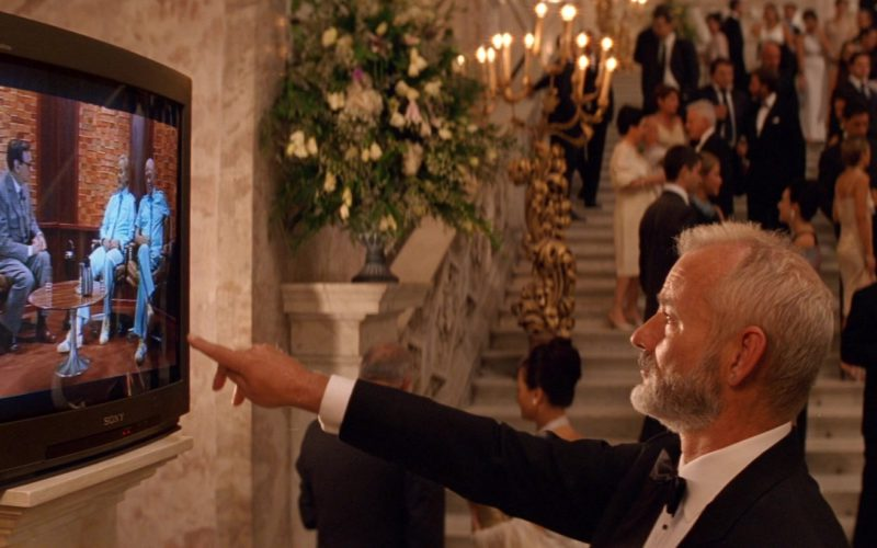 Sony TV in The Life Aquatic with Steve Zissou (1)