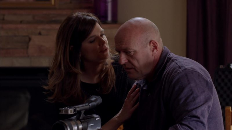 "Sony Video Camera Used by Dean Norris (Hank Schrader) in Breaking Bad Season 5 Episode 12 ""Rabid Dog"" (2012) TV Show Product Placement"