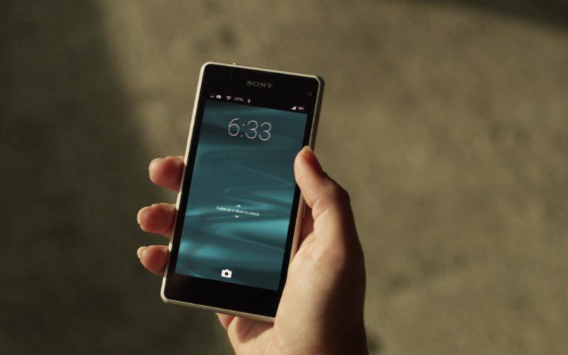 Sony Xperia Smartphone Used by Otmara Marrero (Izzy Morales) in StartUp