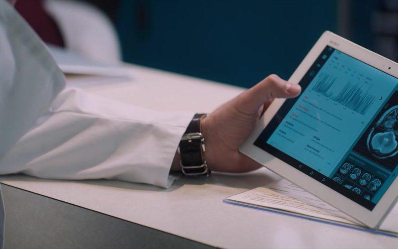 Sony Xperia Tablet Used by Reid Scott in Venom (2)