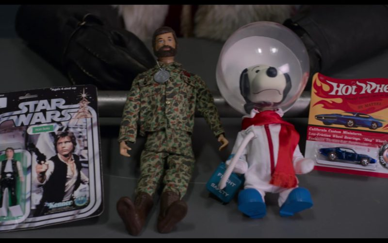 Star Wars Han Solo and Hot Wheels Toy in The Christmas Chronicles (1)