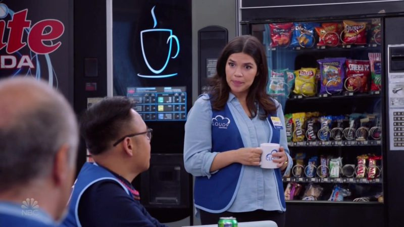 Doritos, Cheetos, Fritos, Lay's, Cheez It, M&M's, Snickers and Twix in Superstore Season 4 Episode 7: New Initiative (2018) TV Show Product Placement