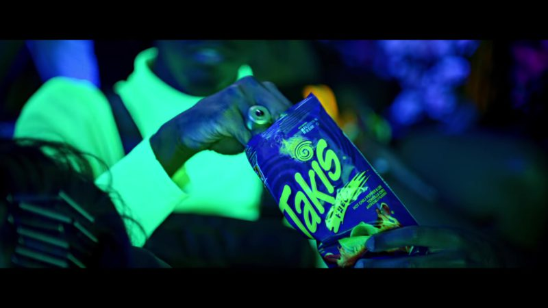 "Takis Fuego Tortilla Corn Chips in ""Say My Name"" by David Guetta, Bebe Rexha & J Balvin (2018) Official Music Video Product Placement"