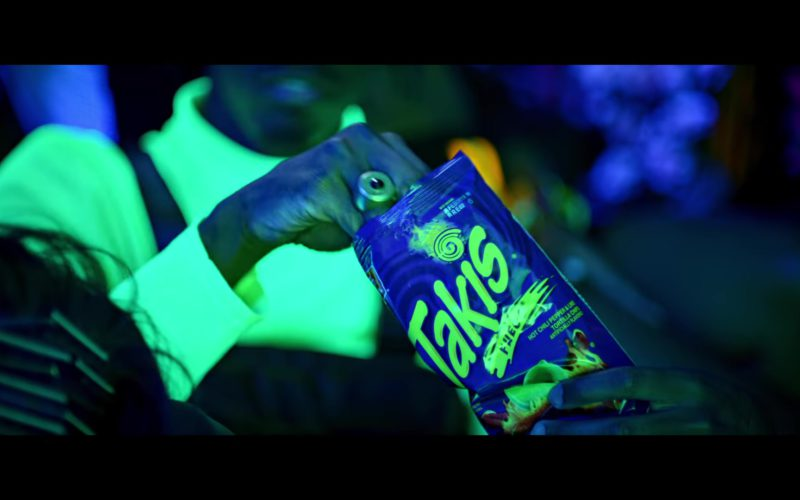 "Takis Fuego Tortilla Corn Chips in ""Say My Name"" by David Guetta, Bebe Rexha & J Balvin (3)"