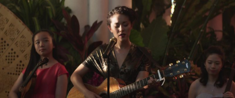 Taylor Guitar in Crazy Rich Asians (2018) - Movie Product Placement