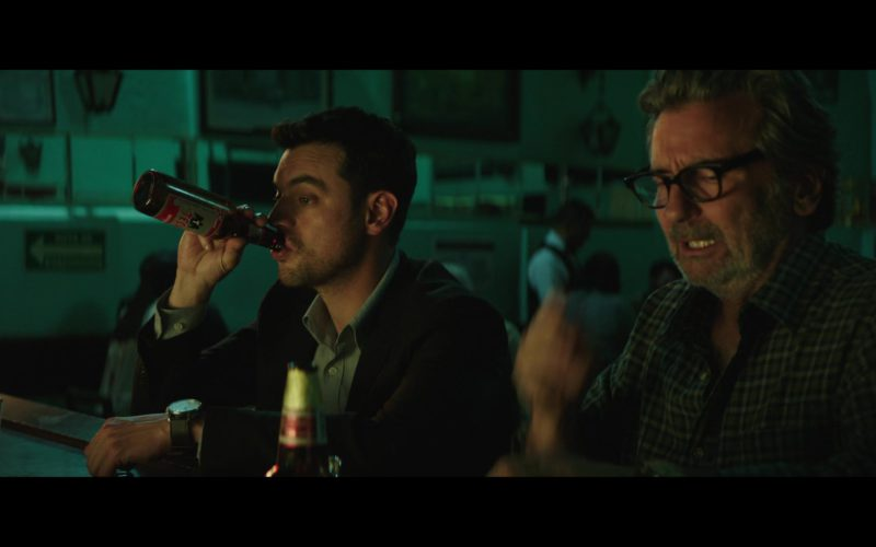 Tecate Beer Drunk by David Sutcliffe in The Romanoffs Season 1 Episode 6 Panorama (4)