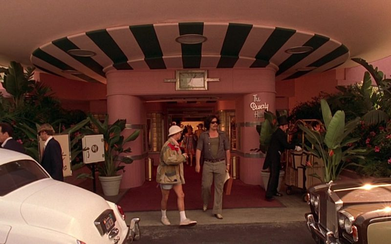 The Beverly Hills Hotel in Fear and Loathing in Las Vegas (3)