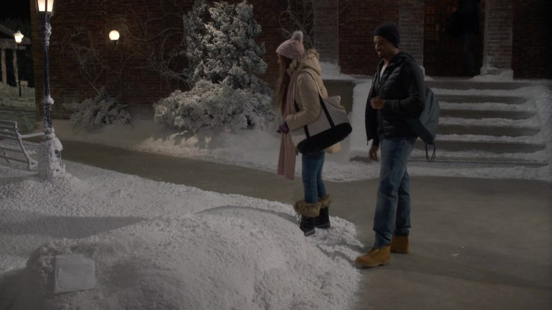 Timberland Boots Worn by Damon Wayans Jr in Happy Together Season 1 Episode 7: How Jake and Claire Met (2018) TV Show Product Placement