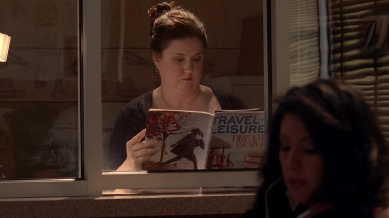 """Travel + Leisure Magazine in Breaking Bad Season 5 Episode 9 """"Blood Money"""" (2012) - TV Show Product Placement"""