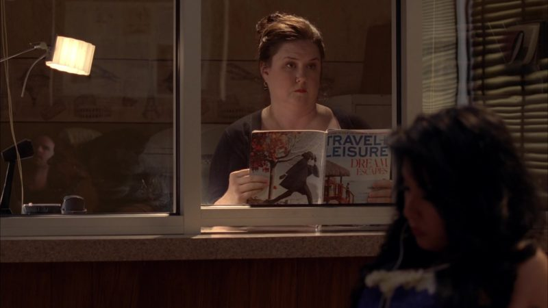 """Travel + Leisure Magazine in Breaking Bad Season 5 Episode 9 """"Blood Money"""" (2012) TV Show Product Placement"""