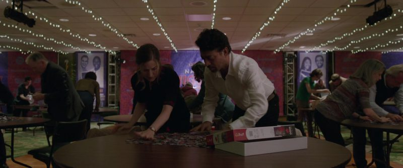 Trefl Jigsaw Puzzle Used by Kelly Macdonald and Irfan Khan in Puzzle (2018) - Movie Product Placement