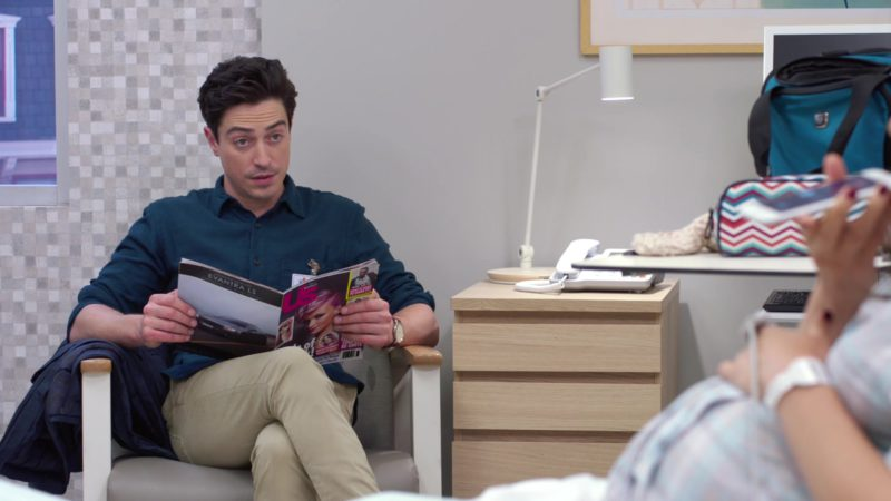 "US Magazine Held by Ben Feldman (Jonah) in Superstore Season 4, Episode 5 ""Delivery Day"" (2018) TV Show Product Placement"
