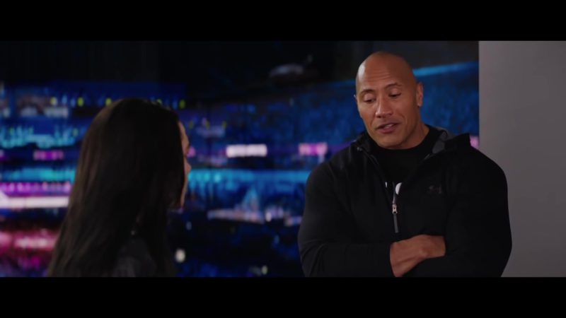 UA Hoodie Worn by Dwayne Johnson in Fighting with My Family (2019) - Movie Product Placement