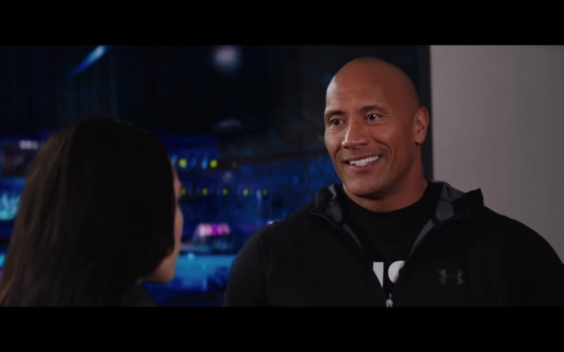 Under Armour Hoodie Worn by Dwayne Johnson in Fighting with My Family (7)