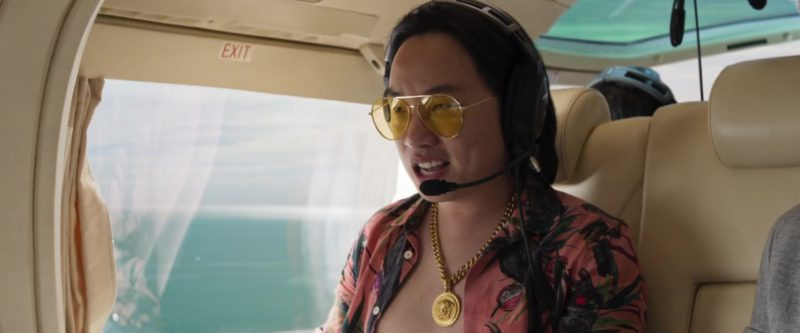 Versace Medusa Chain Necklace Worn by Jimmy O. Yang in Crazy Rich Asians (2018) - Movie Product Placement