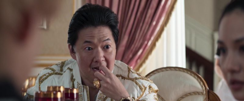 Versace Men's Ring Worn by Ken Jeong in Crazy Rich Asians (2018) - Movie Product Placement