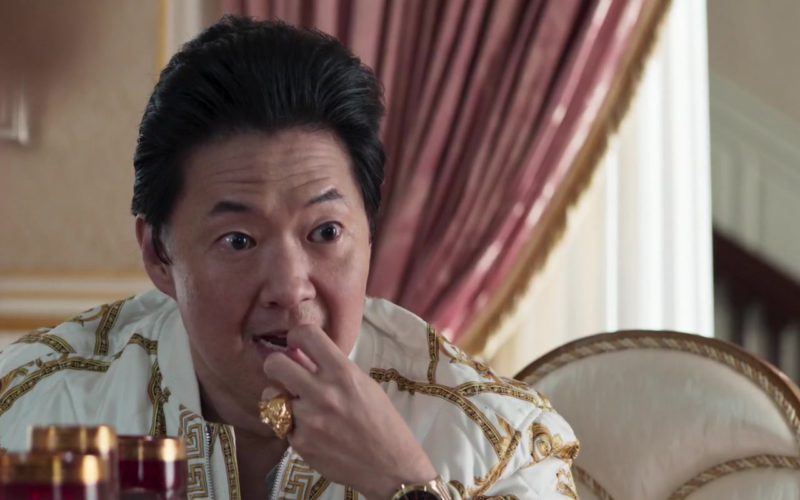 Versace Men's Ring Worn by Ken Jeong in Crazy Rich Asians