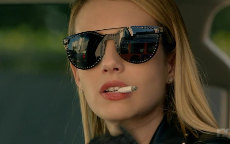Versace Sunglasses For Women in American Horror Story (12)