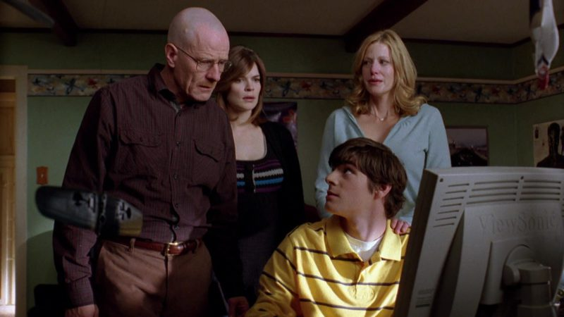 ViewSonic Monitor Used by RJ Mitte (Walter White Jr.) in Breaking Bad Season 2 Episode 12: Phoenix (2009) - TV Show Product Placement