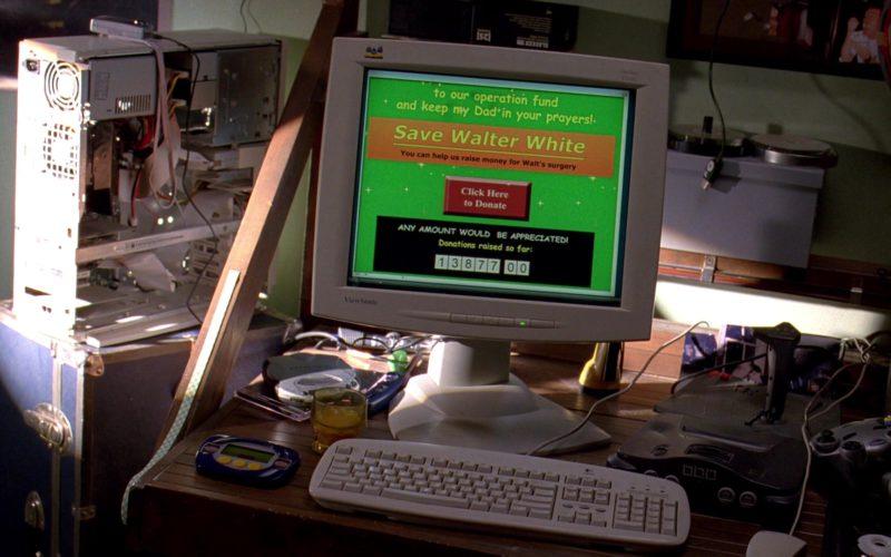 ViewSonic Monitor in Breaking Bad Season 3 Episode 2 (2)