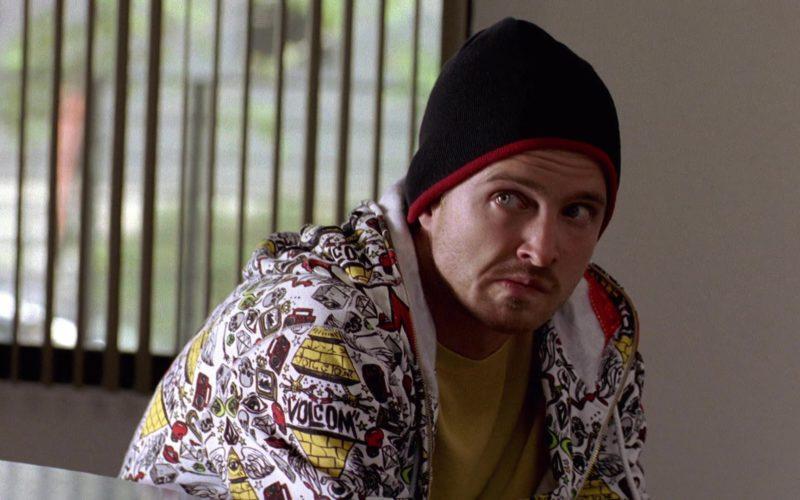 Volcom Hoodie Worn by Aaron Paul (Jesse Pinkman) in Breaking Bad Season 2 Episode 4 (1)