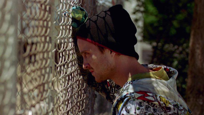 Volcom Hoodie Worn by Aaron Paul (Jesse Pinkman) in Breaking Bad Season 2 Episode 4: Down (2009) - TV Show Product Placement