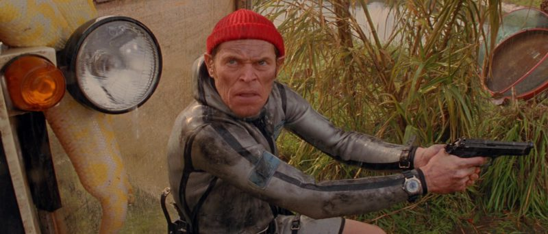 Vostok Amphibia Wrist Watch Worn by Willem Dafoe in The Life Aquatic with Steve Zissou (2004) Movie Product Placement