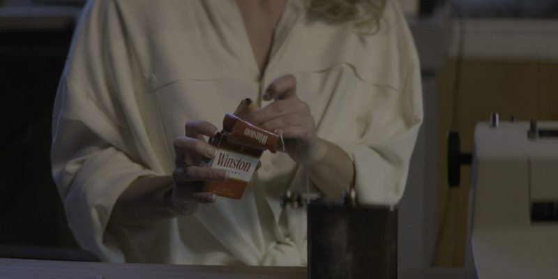 "Winston Cigarettes Smoked by Actress Betty Gilpin (Debbie) in Glow Season 2 Episode 6 ""Work the Leg"" (2018) - TV Show Product Placement"